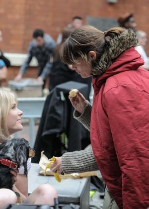 Gemma Arterton on She Who Brings Gifts set -05