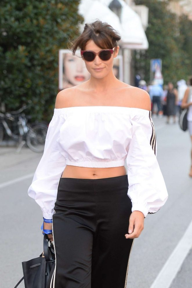 Gemma Arterton - Out and about in Venice