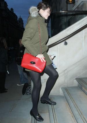 Gemma Arterton - out in Manchester