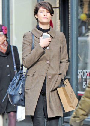 Gemma Arterton out shopping in London