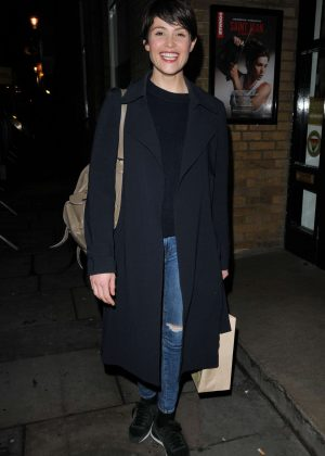 Gemma Arterton - Saint Joan play at The Donmar Warehouse in London
