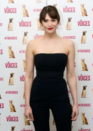 "Gemma Arterton - ""The Voices"" Special Screening in London"