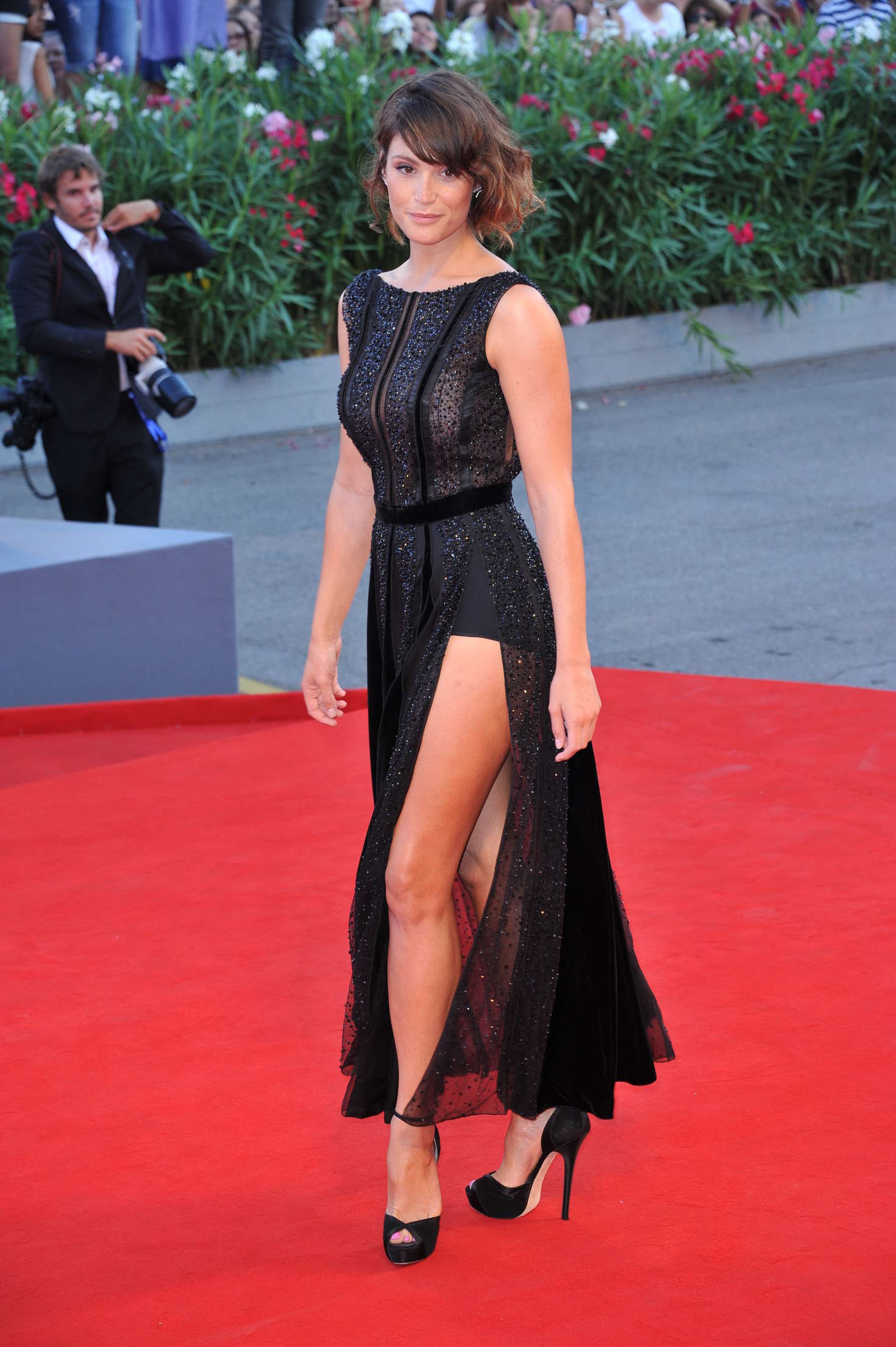 Gemma Arterton – 'The Young Pope' Premiere at 73rd Venice Film Festival in Italy