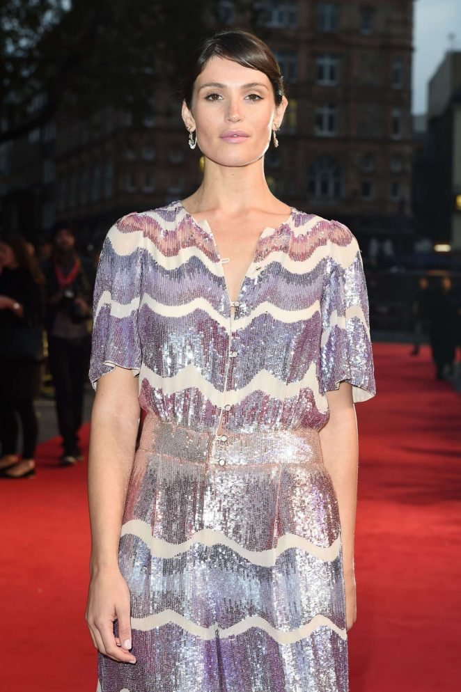 Gemma Arterton - 'Their Finest' Premiere at 60th BFI London Film Festival
