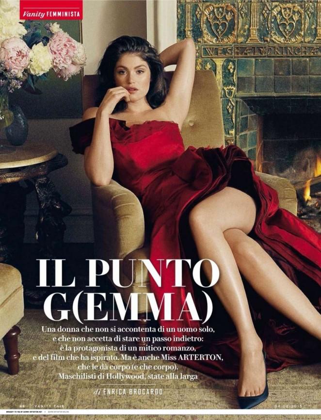 Gemma Arterton - Vanity Fair Cover (February 2015)