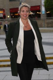 Gemma Atkinson  -Arriving at The Lowry in Salford