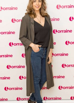 Gemma Atkinson at Lorraine TV Show in London