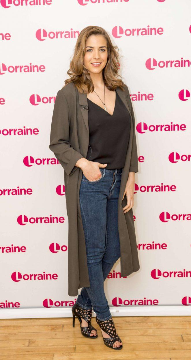 Gemma Atkinson at Lorraine TV Show in London