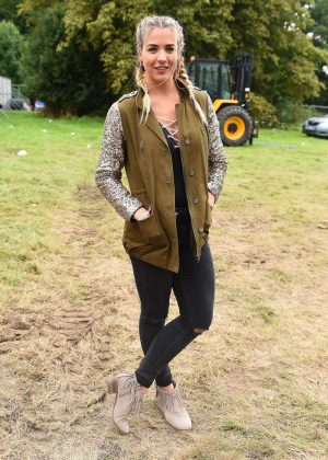 Gemma Atkinson at the V Festival 2017 in Chelmsford