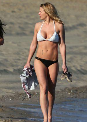 Gemma Atkinson - Bikini Candids on holiday in Marbella
