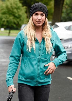 Gemma Atkinson -  Charity Dog Walk in Manchester