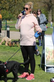 Gemma Atkinson - Launches a dog walk for for the charity Cash for Kids in Manchester