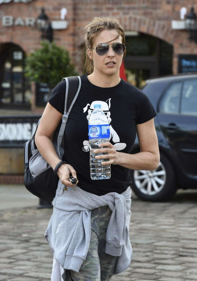 Gemma Atkinson Leaving Key 103 Radio Station in Manchester