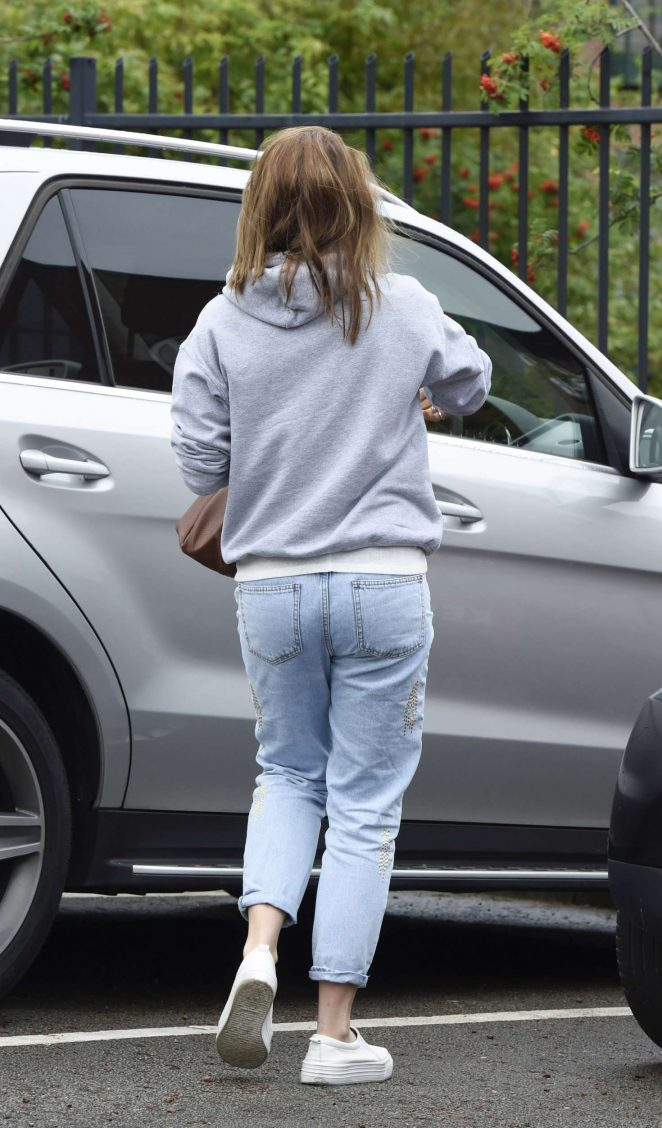 Gemma Atkinson Leaving Key 103 Radio Station -16