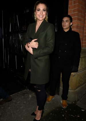 Gemma Atkinson - Night out in Manchester