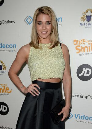 Gemma Atkinson - Once Upon A Smile Grand Ball 2016 in Manchester