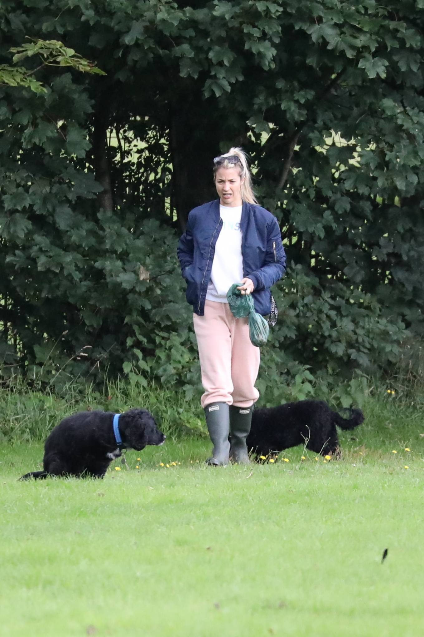 Gemma Atkinson 2020 : Gemma Atkinson – Out for a morning dog walk in Manchester-02
