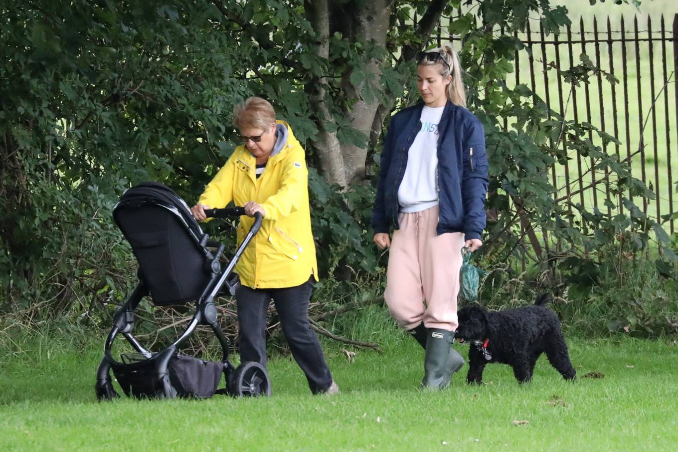 Gemma Atkinson 2020 : Gemma Atkinson – Out for a morning dog walk in Manchester-04