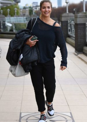 Gemma Atkinson out in Manchester