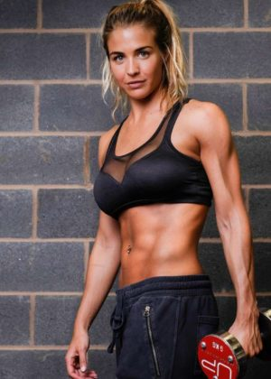 Gemma Atkinson - Photoshoot for Ultimate Performance
