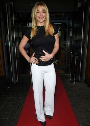 Gemma Atkinson - The Key 103 Radio Cash For Kids Charity Evening in Manchester
