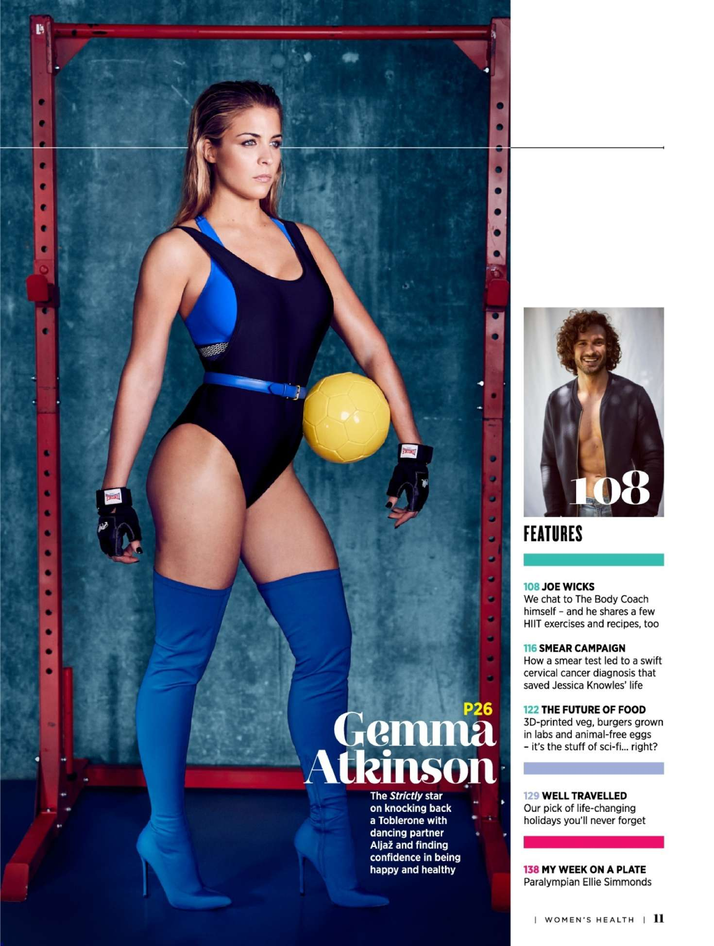Gemma Atkinson: Womens Health UK 2018 adds -12 - GotCeleb