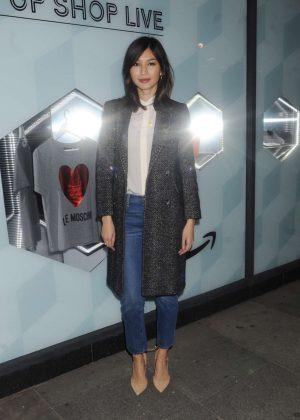 Gemma Chan - Amazon Fashion hosts Pop-Up Shop Live in London