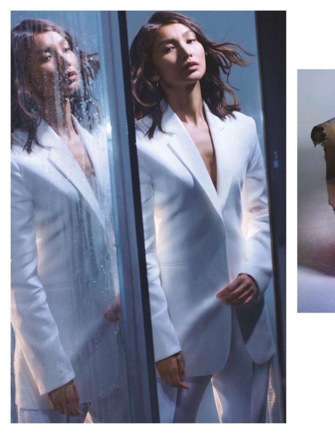 Gemma Chan – British Vogue Magazine (February 2019)