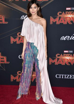 Gemma Chan - 'Captain Marvel' Premiere in Los Angeles