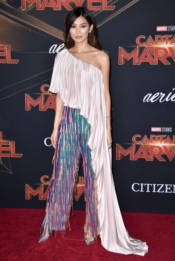 Gemma Chan - 'Captain Marvel' Premiere in Los Angeles