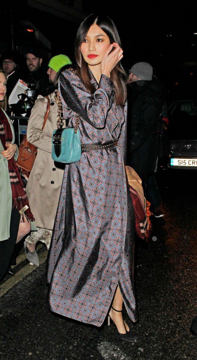 Gemma Chan - Harvey Weinstein Pre BAFTAs Dinner in London
