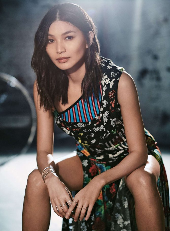 Gemma Chan – InStyle US Magazine (March 2019)