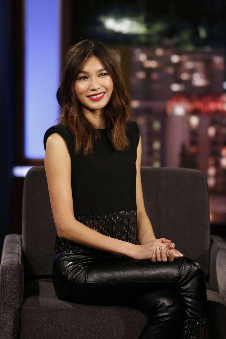 Gemma Chan - On Jimmy Kimmel Live! in Los Angeles