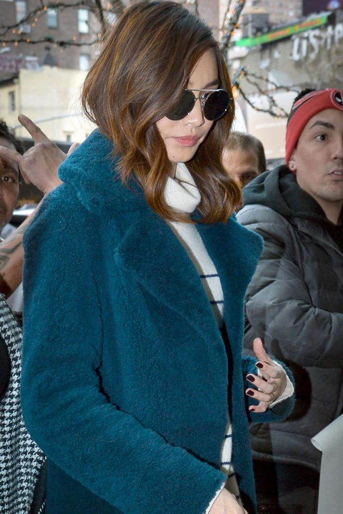 Gemma Chan – Out and about in NYC