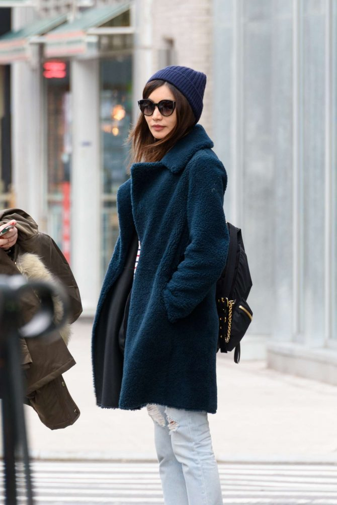 Gemma Chan: Out in the East Village -01