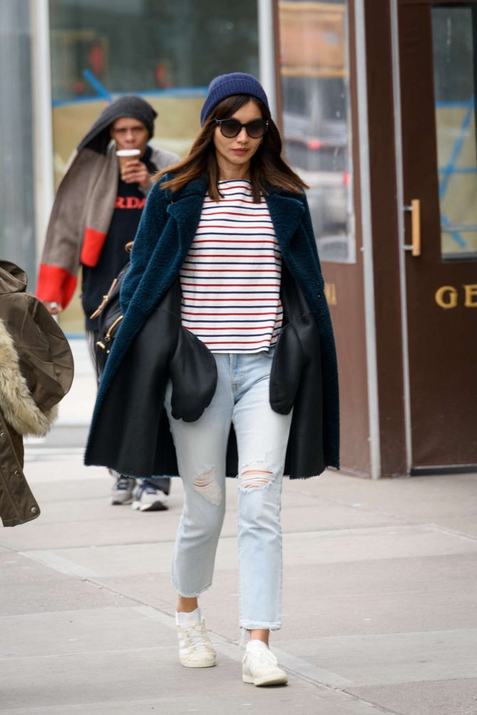 Gemma Chan: Out in the East Village -04