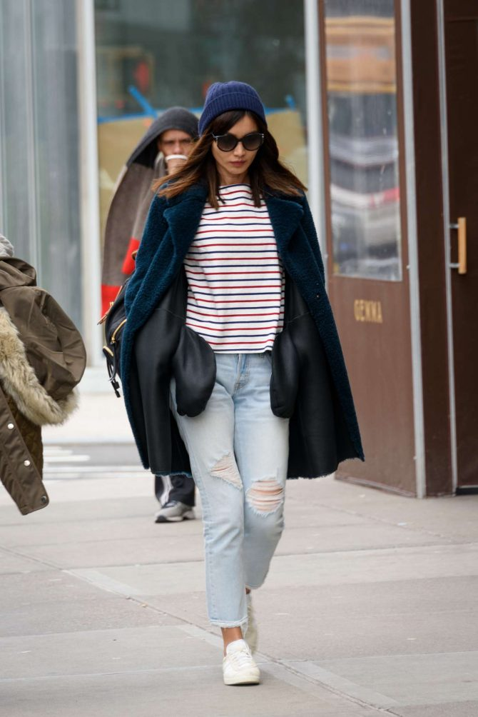 Gemma Chan: Out in the East Village -05