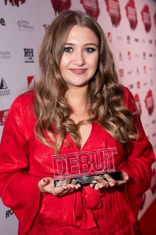 Gemma Dobson - 2018 Stage Debut Awards in London