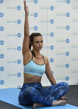 Gemma Merna and Jennifer Metcalfe - Yoga at the Trafford Centre in Manchester