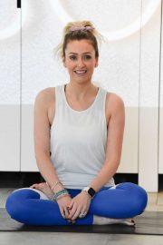Gemma Merna - Arriving at a Yoga Class in Manchester