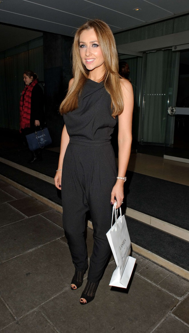 Gemma Merna - Lashes Launch in London