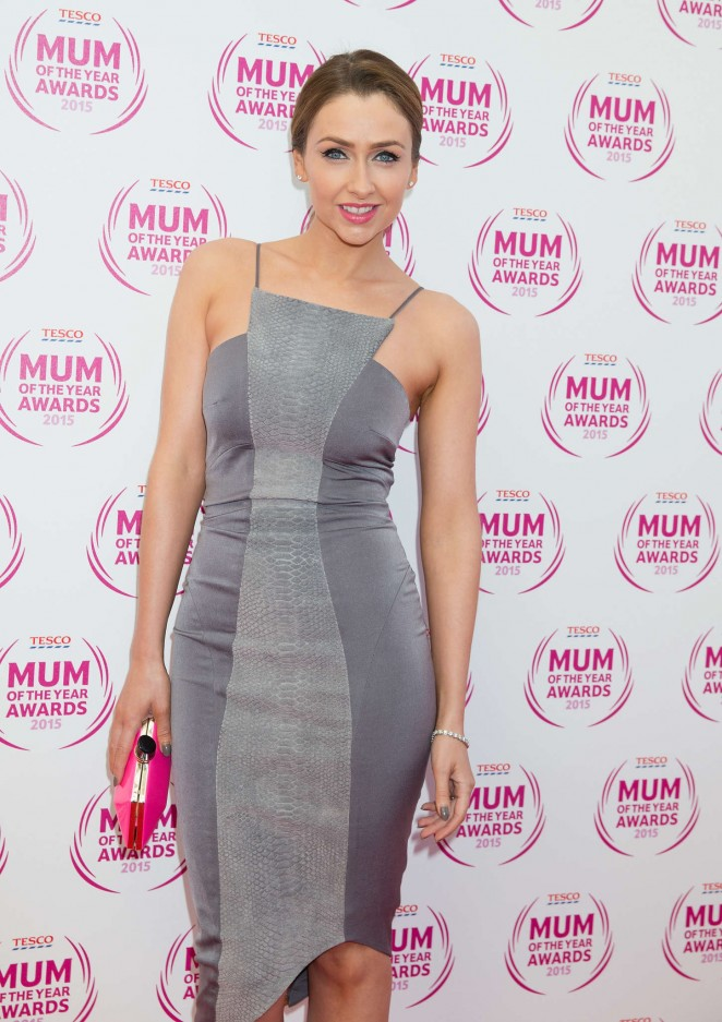 Gemma Merna - Tesco Mum Of The Year Awards 2015 in London