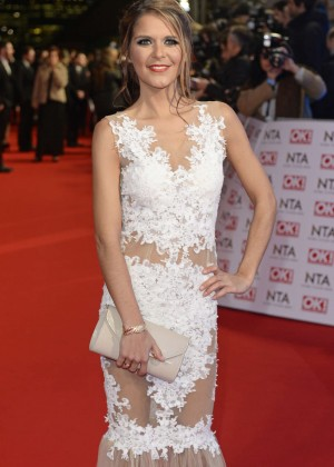 Gemma Oaten - 2015 National Television Awards in London
