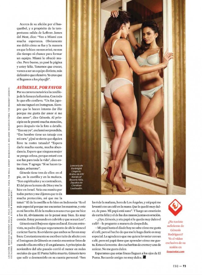 back to post genesis rodriguez esquire mexico magazine january