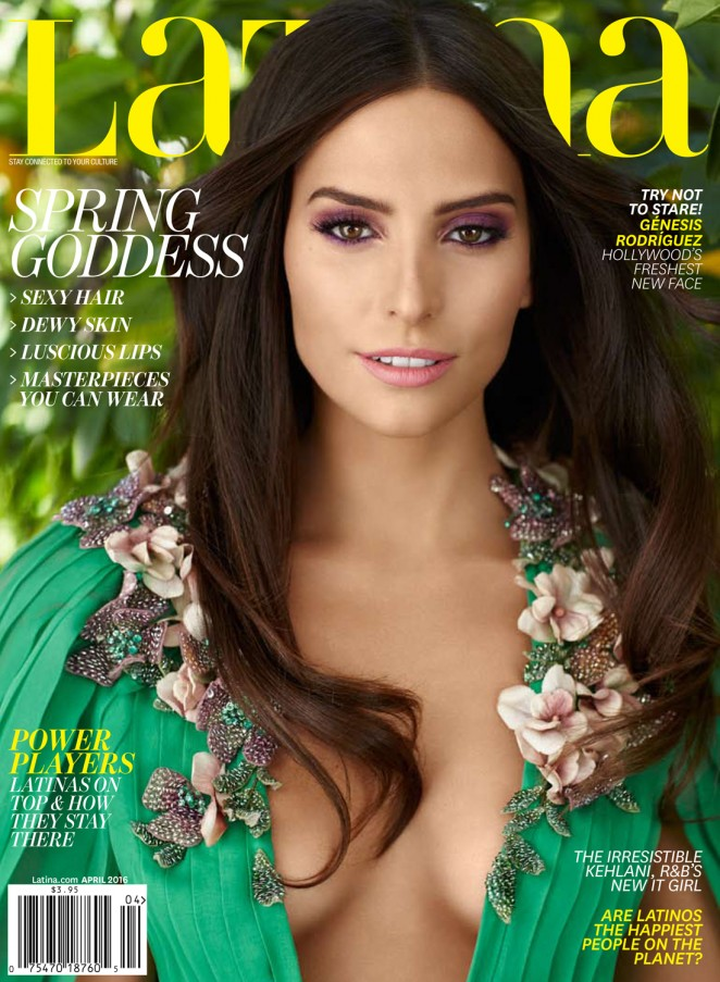 Genesis Rodriguez - Latina Magazine (April 2016)