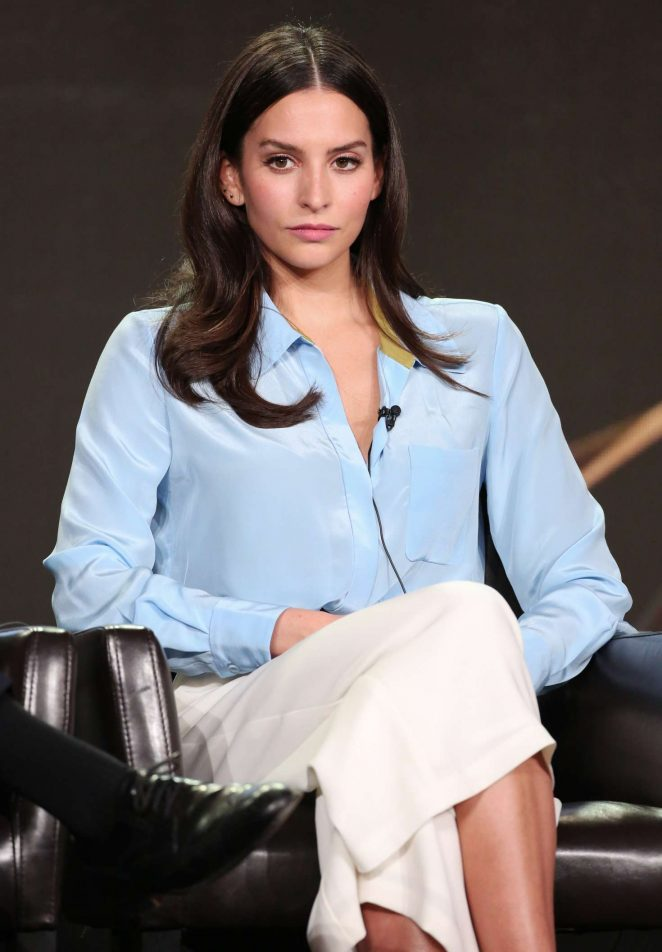 Genesis Rodriguez - 'Time After Time' Panel at TCA Winter Press Tour 2017 in Pasadena