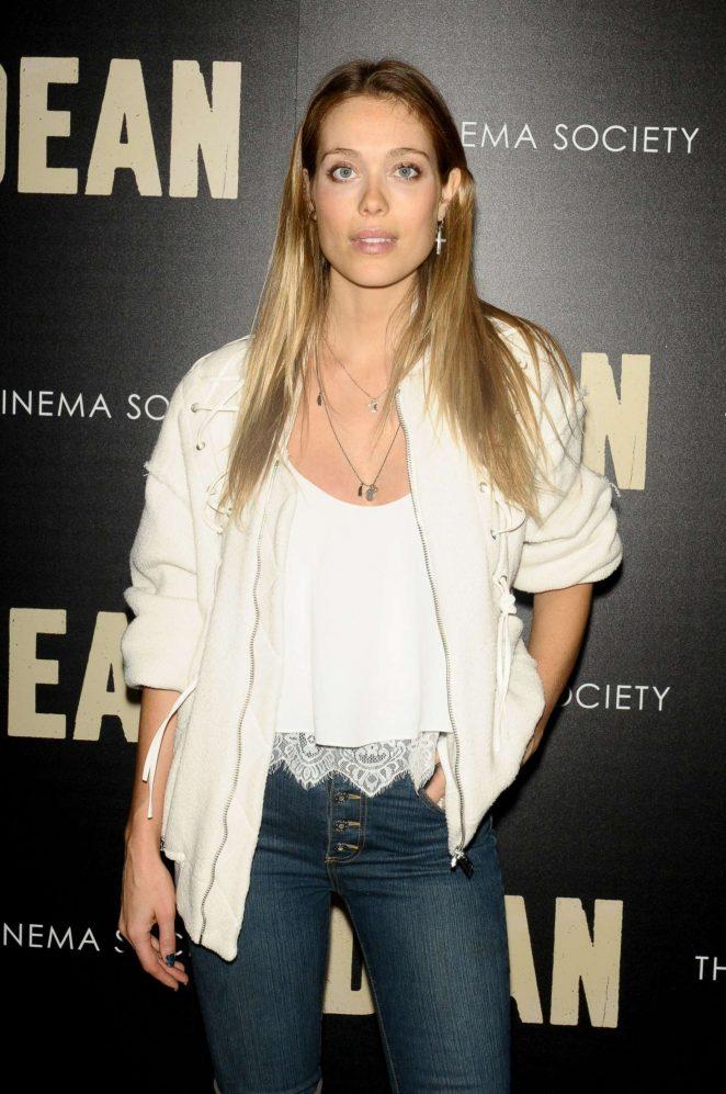 Genevieve Bahrenburg - 'Dean' Premiere in New York