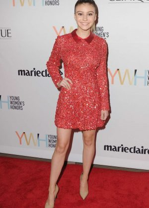 Genevieve Hannelius - 1st Annual Marie Claire Young Women's Honors in Marina Del Rey