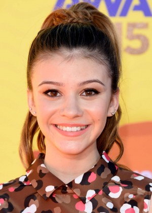 Genevieve Hannelius: 2015 Nickelodeon Kids Choice Awards -06