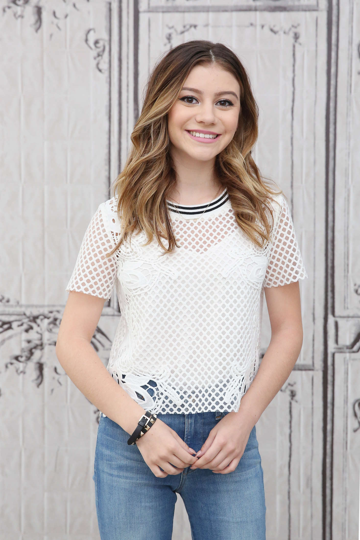 Genevieve Hannelius - AOL Build Speaker Series in New York City